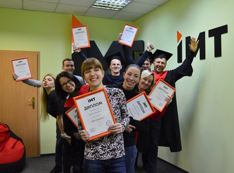 выпускники курса СММ IMT-Академии, Запорожье